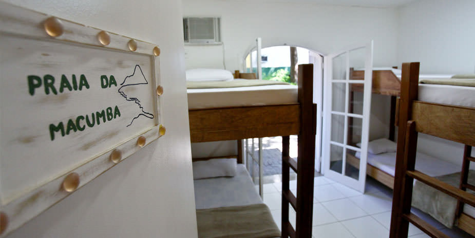 Praia da Macumba Suite Shared Room | Hostel BRAZ